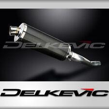 "Yamaha TDM850 14"" Carbon Oval Muffler Exhaust 91 92 93 94 95 96 97 98 99 00 01"