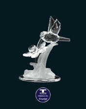 "[SPECIAL OFFER] ""Humming Bird & Flower"" Austrian Crystal Figurine was AU$72.00"