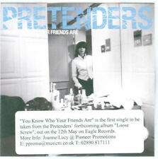 THE PRETENDERS - CD Single - You Know Who Your Friends Are - Promo Paper Sleeve.