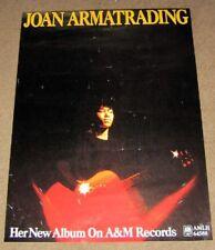 JOAN ARMATRADING UK REC COM AUTOGRAPH PROMO POSTER SELF TITLED DEBUT ALBUM 1976