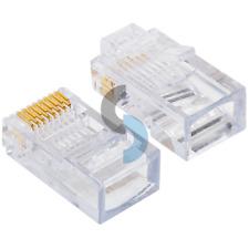 Platinum Tools 100003C Ez-Rj45 Cat 5/5e Connectors, 50 Pc. Clamshell