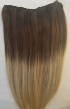 "20"" 100gr, Balayage Weft Weaving 100% Human Hair Extensions (No Clips)#T2-18/613"