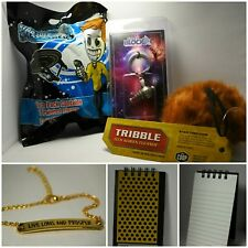 Star Trek Bundle, 5pc set, Nerd Block, Loot Crate, Fandom of the Month, Trekie
