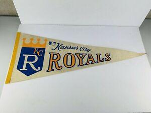 Vintage Kansas City Royals Missouri 12x29.5 Pennant Mlb Baseball KC