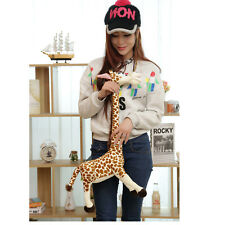 """36cm 14"""" Cute  Stuffed Cartoon Giraffe Chic Funny Plush Animal Doll Soft Toy"""