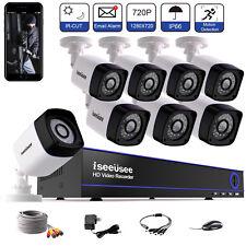 8CH HDMI DVR 720P outdoor Indoor Surveillance Home Video Security Camera System