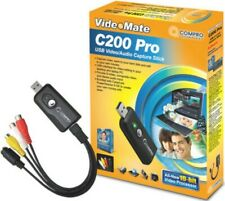 Compro Technology VideoMate C200 Pro - Analogue Video / Audio Capture to USB 2.0