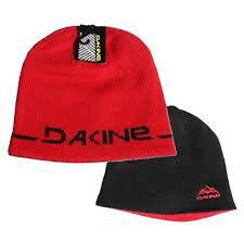 Dakine 2-Way Reversible Beanie Hat Cardinal Red