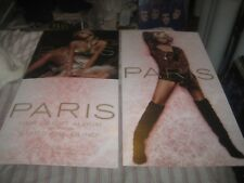 PARIS HILTON-DEBUT ALBUM-1 POSTER FLAT-2 SIDED-12X24 INCHES-NMINT-RARE!!!!!
