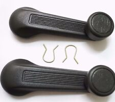 2x Window Crank handle grey for HONDA Civic Accord DX CX EX SI EK EG6 D16 B16