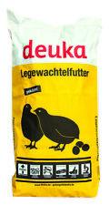 Legewachtelfutter, Wachtelfutter, Wachtel, Deuka, 2 mm Pellets, 25 kg