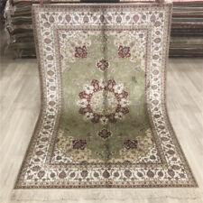 YILONG 4'x6' Handmade Silk Area Rug Home Interior Living Room Carpet 024B