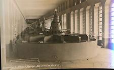 Vintage RPPC Generators Power House Bonneville Dam, Oregon Photo Postcard