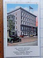 1920's Advertising Postcard, St. John Hotel, Charleston, South Carolina