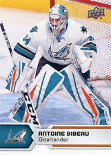 17/18 UPPER DECK AHL #96 ANTOINE BIBEAU SAN JOSE BARRACUDA *47844