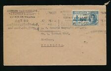 CEYLON 1946 VICTORY 6c FDC to NUGEGODA...MACHINE SLOGAN ADDRESS to NUMBER STREET