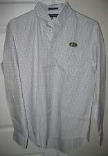 Land Rover Mens Long Sleeve Button Front Shirt 15.5/35
