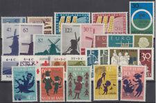 NIEDERLANDE: ** Jahrgang 1963 postfrisch (MNH) komplett MW 20,90 (1PKNL-86#2)
