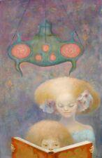 Leonor Fini Winter Heari canvas print giclee 8X12&12X17 art poster reproduction