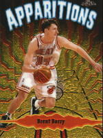 1998-99 Topps Chrome Apparitions #A3 Brent Barry - NM-MT