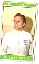 Figurina Campioni dello Sport Panini 1967-68 n.521! Giuseppe Merlo! Tennis!!