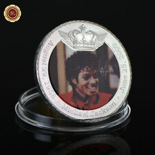 WR Young Michael Jackson Pure Silver Crown Coin MJ Music Memorabilia for Fans