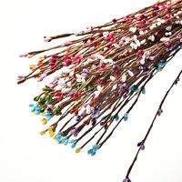 10 Pcs Pretty PIP Berry Stem for Wreath Floral Arrangement Crafts Decor New liau