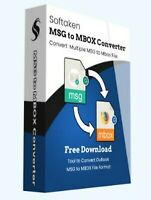 SOFTAKEN MSG TO MBOX CONVERTER - BUSINESS nuovo.