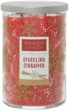 Yankee Candle Holiday Collection Tumbler Sparkling Cinnamon Two Wick Large 623g