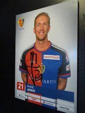 59377 Marc Janko FC Basel Schweiz original signierte Autogrammkarte
