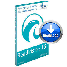 Readiris Pro 15 OCR Software PC Document management Archive Edit PDF Download