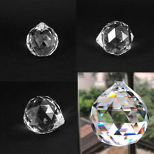 Clear Crystal Feng Shui Lamp Ball Prism Rainbow Sun Catcher Wedding Decor Gifts