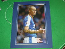 Glasgow Rangers Kenny Miller Signed & Mounted 2015/16 Season Action Photograph