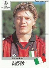 N°298 THOMAS HELVEG MILAN.AC UEFA CHAMPIONS LEAGUE 2000 STICKER PANINI SWEDEN