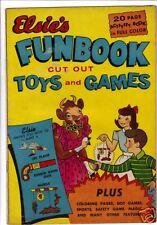 Elsie's Funbook comic 1950 Borden's promotional item