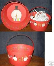 Lang Baskets-- Set of 3 Christmas Themed Decorative Baskets-Great Gift Idea
