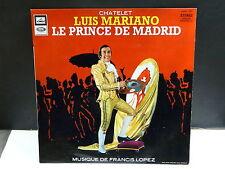 LUIS MARIANO Chatelet Le Prince de Madrid FRANCIS LOPEZ CFELP 1323 Operette