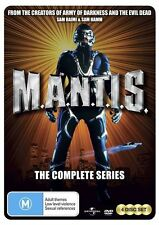 M.A.N.T.I.S. - The Complete Series (DVD, 2011, 4-Disc Set)