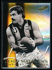 2000 Select Leigh Matthews Legend card Hawthorn Hawks LC1