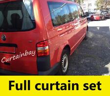 VW T5 curtains full set. Blinds Grey beige blue black campervan