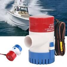 SEAFLO Automatische 12V 3A Elektrische Bilgepumpe für Boot Lenzpumpe 1100 GPH