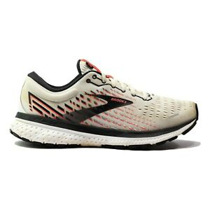 Brooks Women's Ghost 13 White/Pink/black Size 8 US 1203381B192 Running Sneakers