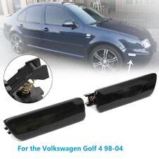 1 Pair For VW Jetta Golf MK4 1998-2004 Black Bumper Lamp Side Marker Light New
