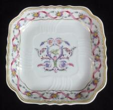 "RICHARD GINORI Italy ""RAPALLO"" 5.5"" SQUARE SCALLOPED PORCELAIN NUT DISH"