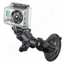 RAM Mount GoPro Short Arm Locking Suction Cup Camera Mount RAM-B-166-A-GOP1U