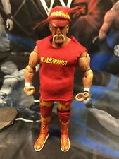 Jakks Impact Bloody Hulk Hogan Bandana Glasses Weight Belt Shirt TNA WWE Figure