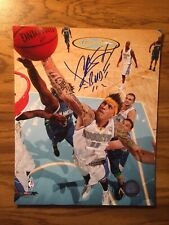 "Chris Andersen Signed 8x10 Photo with the inscription ""BIRD"" w/ Toploader"
