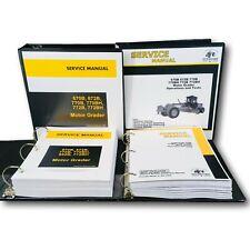 Service Operations And Testing Manual For John Deere 670b 672b Motor Road Grader