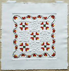 Judy Severson. Quilt Hearts and Tulips. Signed/Numbered