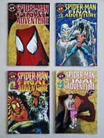 Spider-Man Final Adventure 1 2 3 4 Marvel 1995 Complete Set Series Run Lot 1-4
